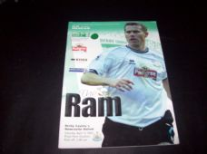 Derby County v Newcastle United, 2001/02